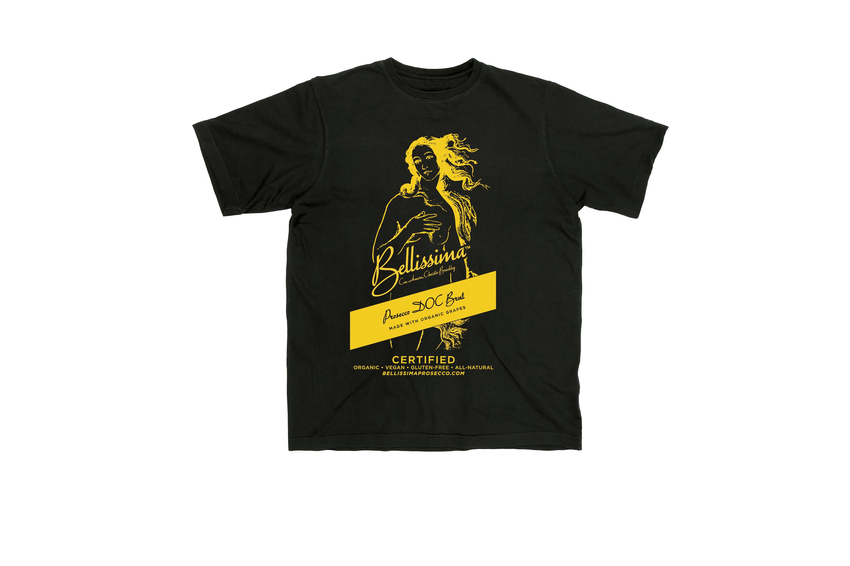 Bellissima T-Shirt Yellow